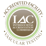 IAC accredited facility vascular testing