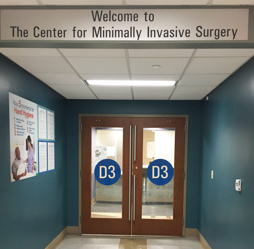 The Center for Minimally Invasive Surgery Buffalo General Medical Center D3 Clinic
