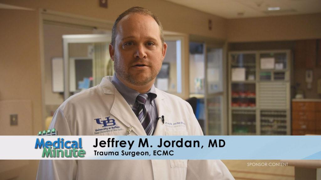 ECMC Medical Minute Dr. Jordan Hunting Safety