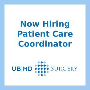 Now hiring: Patient Care Coordinator